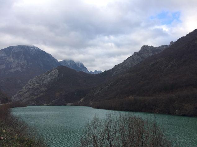 Neretva River along Hwy M17 to Mostar