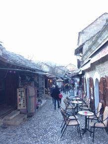 Walking through Old Town