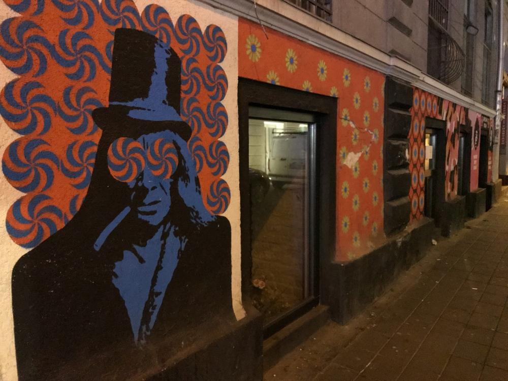 Street Art in the Budapest Jewish Quarter