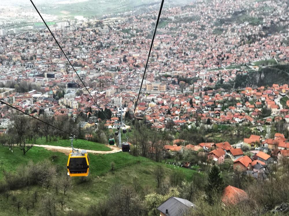 Sarajevo's Cable Cars