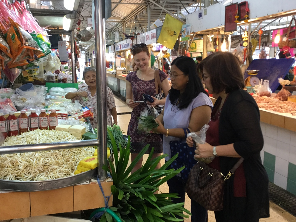 Thai Home Cooking, On Nut Market Tour