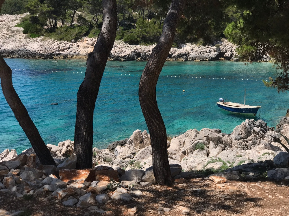 Milna Beach, Hvar, Croatia