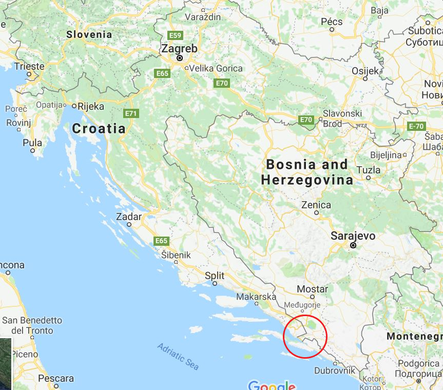 Bosnia and Herzegovina Coastline
