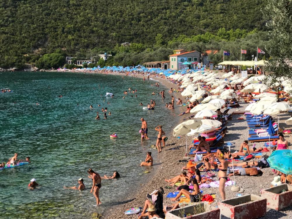 Zanjic Beach, Montenegro