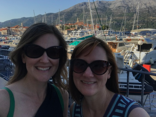 Ferry ride to Korcula