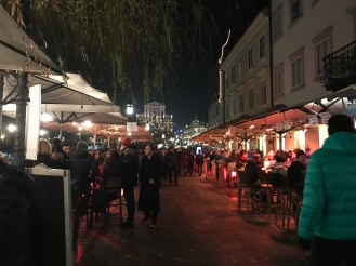 Christmas Markets in Ljubljana, Slovenia