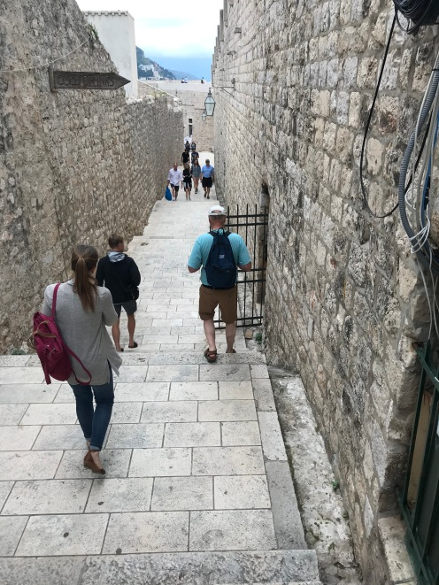 Walking the Wall, Dubrovnik